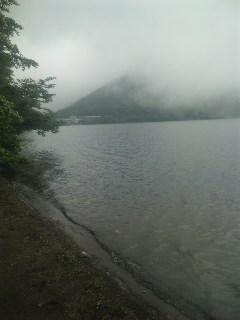 榛名湖にて