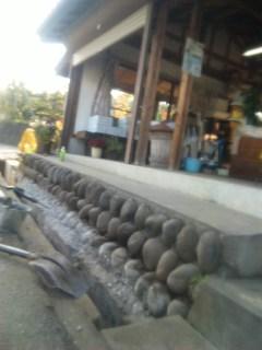側溝の蓋工事